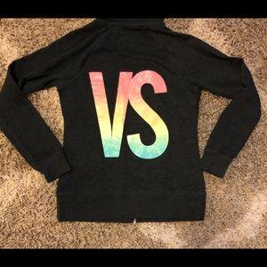 Victoria's Secret zip up hoodie, VS size S